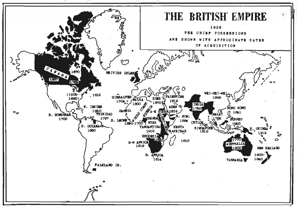 The British Empire 1936